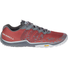 Merrell Trail Glove 5 - Chaussures Homme - gris/rouge